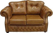 Chesterfield Era 2 Seater Sofa Old English Tan