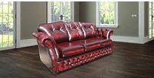 Chesterfield Era Traditional 3 Seater Settee |