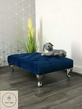 Chesterfield Footstool/Coffee Table/Pouffe Stool