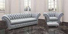 Chesterfield Grosvenor 3 Seater + Armchair +