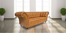 Chesterfield Grosvenor 3 Seater Sofa Settee Old