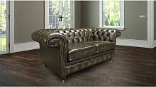 Chesterfield Hampstead 2 Seater Antique Green