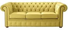 Chesterfield Handmade Leather Shelly Deluca Yellow