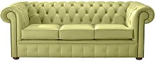 Chesterfield Handmade Leather Shelly Field Green 3