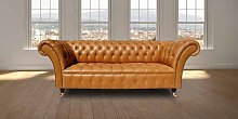 Chesterfield Highgrove 3 Seater Sofa Settee Old