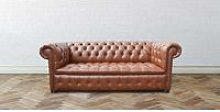 Chesterfield Kensington 3 Seater Buttoned Seat