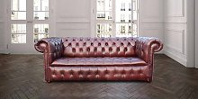 Chesterfield Kensington 3 Seater Settee Buttoned