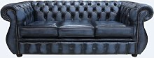 Chesterfield Kimberley 3 Seater Antique Blue