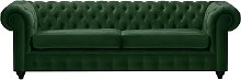 Chesterfield Max 3 Seater Sofa-Velluto 10