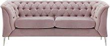 Chesterfield Modern 2 Seater Sofa-Velluto