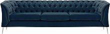 Chesterfield Modern 3 Seater Sofa-Velluto