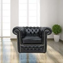 Chesterfield Winchester Low Back Club ArmChair Old