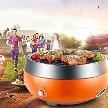 CHGDFQ Electric Barbecue Multi-Function Korean