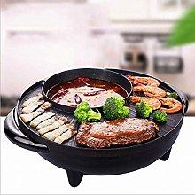CHGDFQ Electric Griddle Grill Teppanyaki BBQ Hot