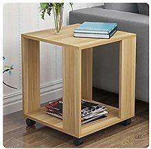 CHGDFQ Small Coffee Table, Small Living Room Sofa