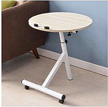 CHGDFQ Wheeled Detachable Coffee Table, Simple