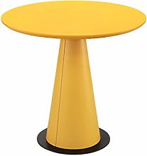 CHGDFQ Wooden Round Sofa Table, Coffee Table Round