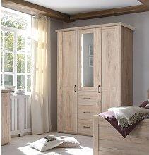 Chi 3 Door Wardrobe Marlow Home Co.