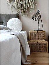 Chic Antique - French Wicker Rectangular Storage