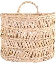 Chic Antique - Small Wall Hanging Basket - natural
