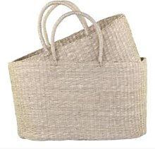 Chic Antique - Wicker Bag Style Seagrass Basket