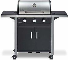 Chicago 3 Burner Gas BBQ Grill