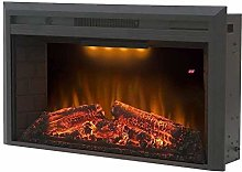 CHICAI Fireplace Electric Wall Recessed Mounted