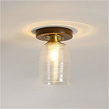 CHICAI Mini Crystal Chandelier Lighting with Glass