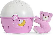 Chicco Next2 Stars Light Projector - Pink