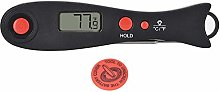 CHICIRIS Meat Thermometer - BBQ Charcoal Grill Pit