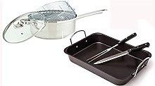 Chicken Baking Tray Tin Turkey Roasting and Chip