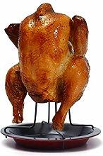 Chicken Holder, Stainless Steel Upright Chicken