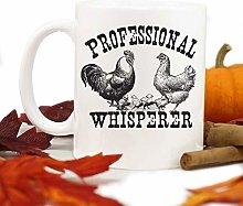 Chicken Mug,Chicken Lady Gift,Farm Mug,Chicken
