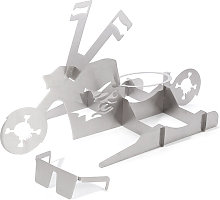Chicken Roaster Rack,Motorcycle fun barbecue