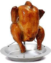 Chicken Roaster Rack Stainless Steel Vertical
