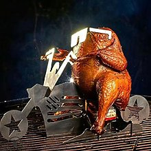 Chicken stand motorcycle creative motorcycle grill