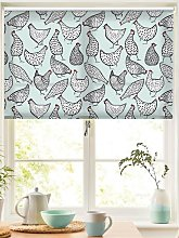 Chickens Duck Egg Roller Blind