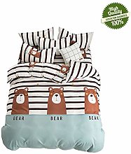 Chickwin Bedding Set Double Bed, 4 Piece Duvet