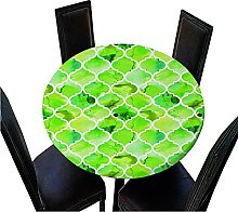 Chickwin Elastic Edged Round Tablecloth, 3D