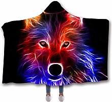 Chickwin Hooded Blanket for Adult Kids, 3D Fashion