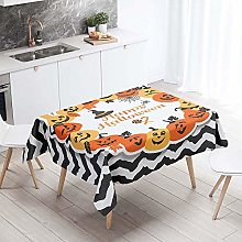 Chickwin Rectangle Tablecloth, Stain Resistant