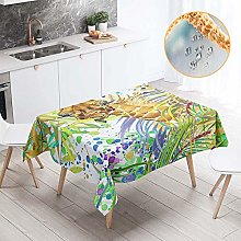 Chickwin Rectangular Tablecloth Waterproof, Nordic