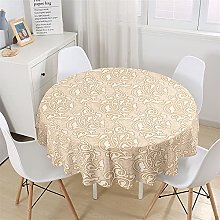 Chickwin Round Tablecloth Baroque Classical