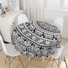 Chickwin Round Tablecloth Creative Colorful