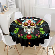 Chickwin Round Tablecloth Waterproof Table Cloth