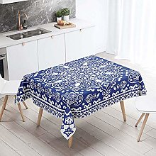 Chickwin Tablecloth Wipe Clean Rectangle, Bohemia