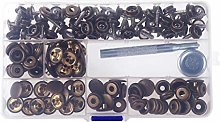 CHICTRY 150Pcs Stainless Steel Marine Grade Canvas