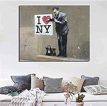 Chifang Artist Wallpaper I Love New York Wall Art