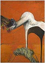 Chifang Francis Bacon Fury Canvas Painting Print