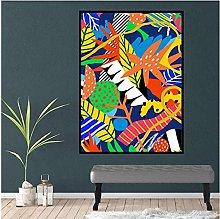 Chifang Jungle Canvas Print Painting Colorful